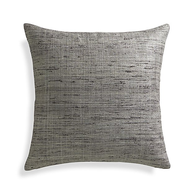 "Trevino Nickel Grey 20"" Pillow Cover"