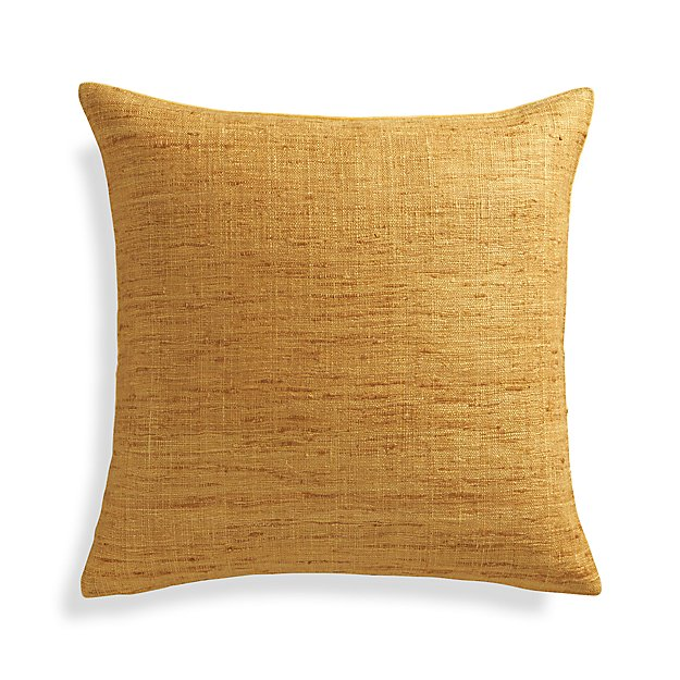 "Trevino Sunflower Yellow 20"" Pillow Cover"