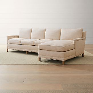 Trevor 2 Piece Right Arm Chaise Sectional