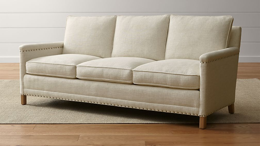 Trevor Oatmeal Sofa Reviews Crate And Barrel