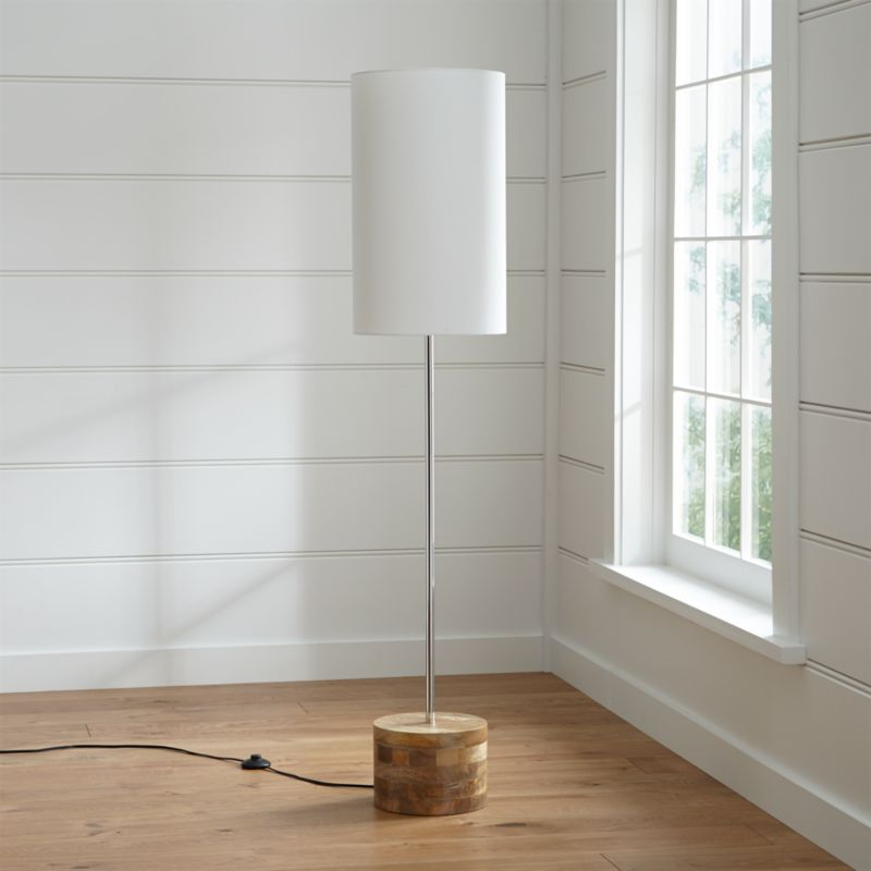 Tribeca floor lamp reviews crate and barrel aloadofball