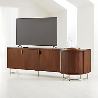 Trifecta Bar Media Cabinet With Light