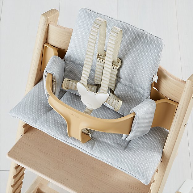 9f3120cd797 Tripp Trapp by Stokke Timeless Grey Cushion + Reviews   Crate and Barrel
