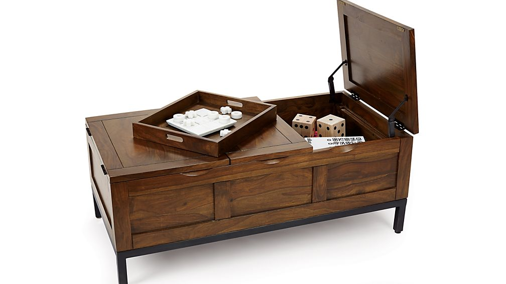 ... Tucker Dark Rectangular Trunk ...