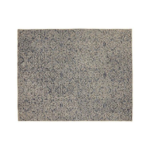 Trystan Indigo Wool-Blend 8'x10' Rug
