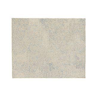 Trystan Sky Blue Wool-Blend 8'x10' Rug