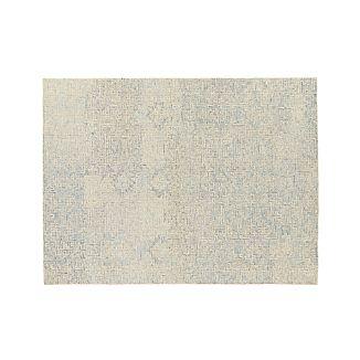Trystan Sky Blue Wool-Blend 9'x12' Rug