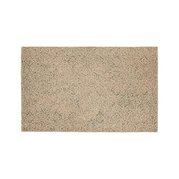 Trystan Tawny Wool-Blend 5'x8' Rug