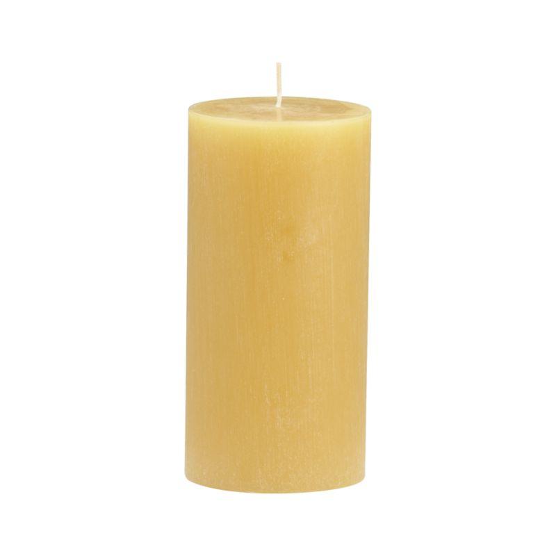 "Vertical ridges encircle this hand-poured candle, adding character and texture reminiscent of bark from the tupelo tree.<br /><br /><NEWTAG/><ul><li>Fully refined paraffin wax</li><li>Cotton wick</li><li>Hand-poured</li><li>Unscented</li><li>Burn time: 3""x6"" (80 hours)</li></ul>"