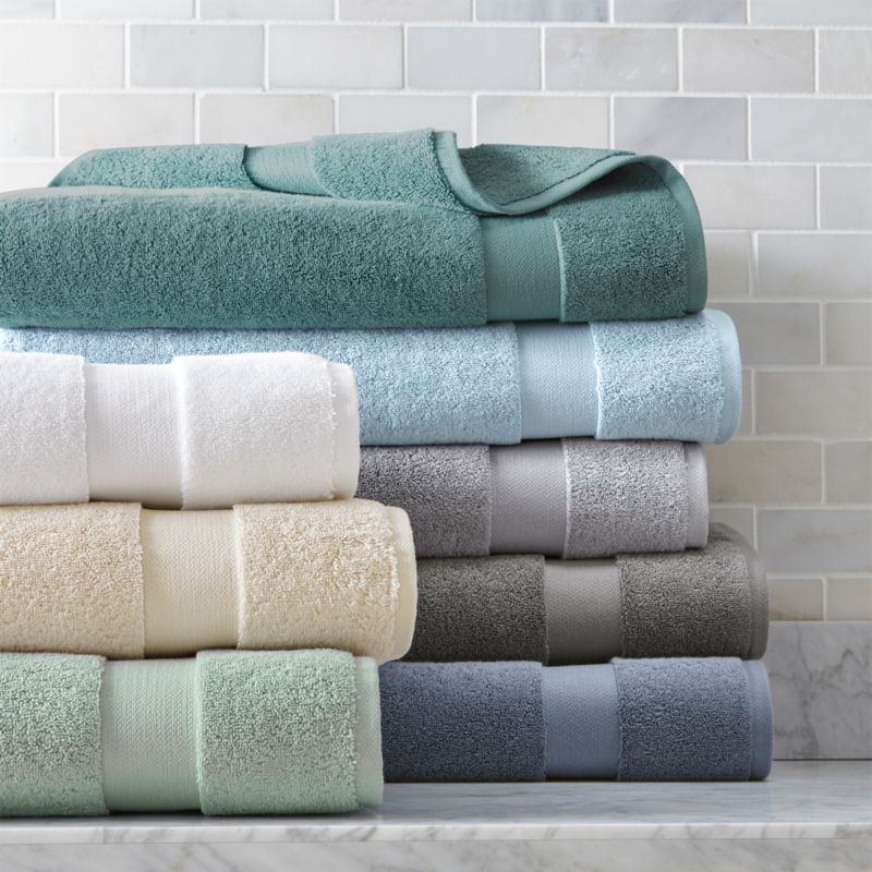 Turkish Cotton 800 Gram Bath Towels Crate and Barrel