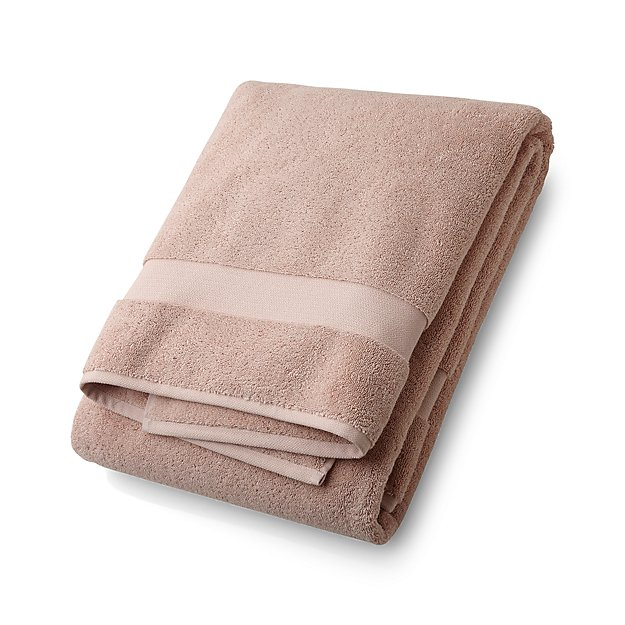 Turkish Cotton 800-Gram Blush Bath Sheet - Image 1 of 4