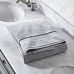 Turkish Cotton 800-Gram Grey Bath Sheet
