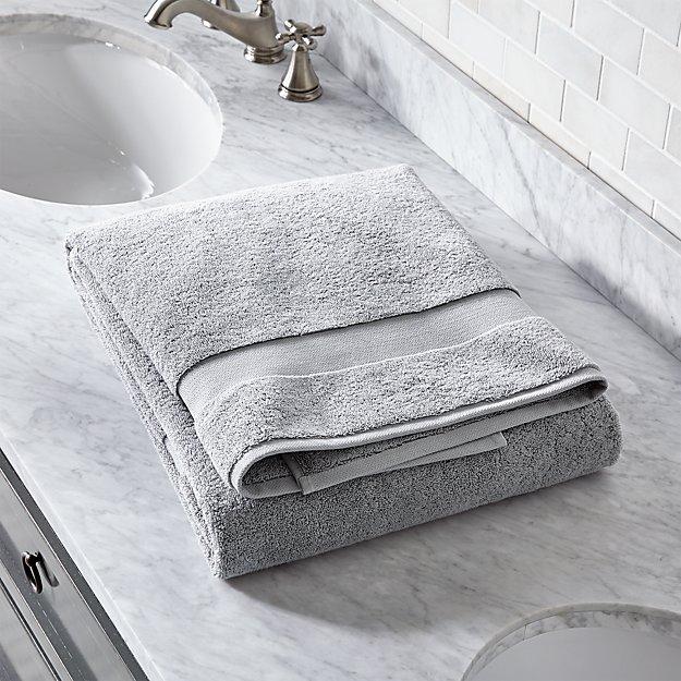 Turkish Cotton 800-Gram Grey Bath Sheet