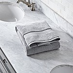 Turkish Cotton 800-Gram Grey Bath Towel