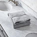 Turkish Cotton 800-Gram Grey Bath Towel