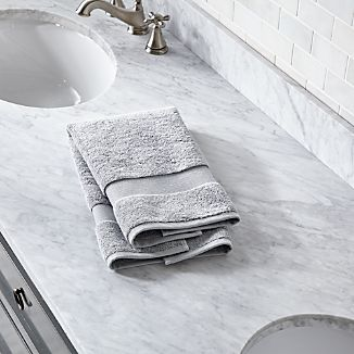 Turkish Cotton Grey Hand Towel
