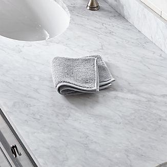 Turkish Cotton 800-Gram Grey Washcloth