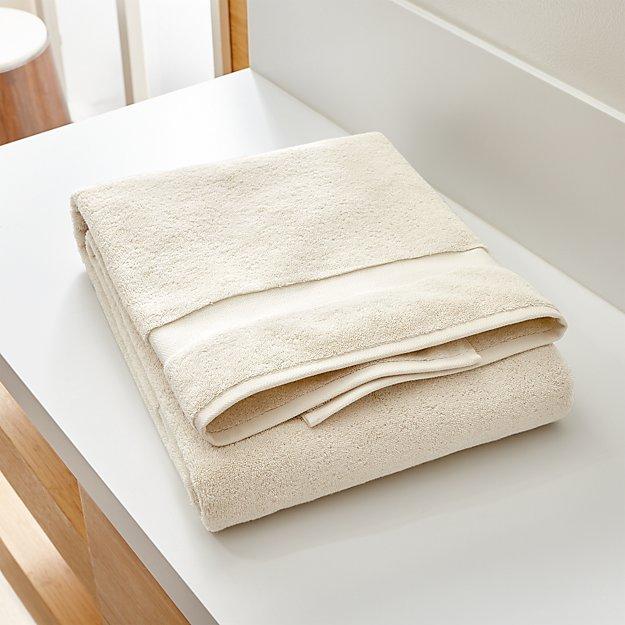 Turkish Cotton 800-Gram Oyster Bath Sheet