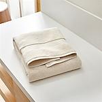 Turkish Cotton 800-Gram Oyster Bath Towel