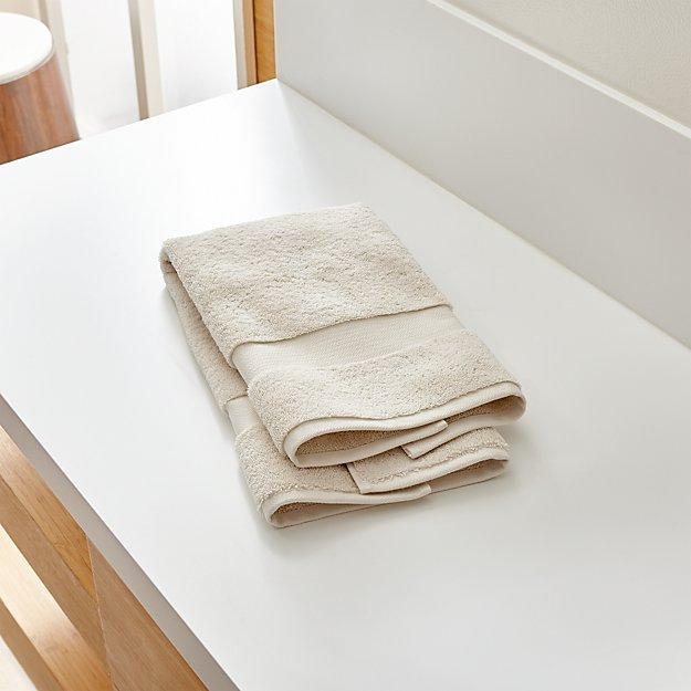Turkish Cotton 800-Gram Oyster Hand Towel