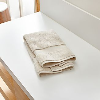 Turkish Cotton 800-Gram Oyster Hand Towel