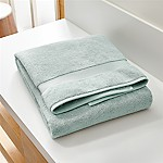 Turkish Cotton 800-Gram Spa Blue Bath Sheet