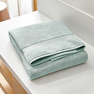 Turkish Cotton 800-Gram Spa Blue Bath Sheet