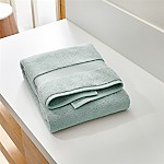 Turkish Cotton 800-Gram Spa Blue Bath Towel