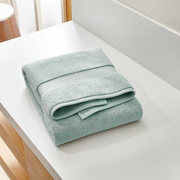 Turkish Cotton 800-Gram Spa Blue Bath Towel