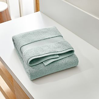 Turkish Cotton Spa Blue Bath Towel