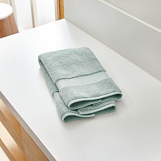 Turkish Cotton Spa Blue Hand Towel