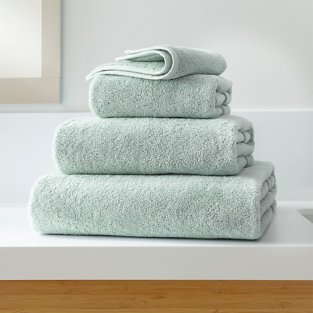 Turkish Cotton 800-Gram Spa Blue Bath Towels