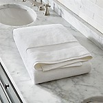 Turkish Cotton 800-Gram White Bath Sheet