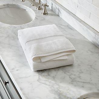 Turkish Cotton White Bath Towel