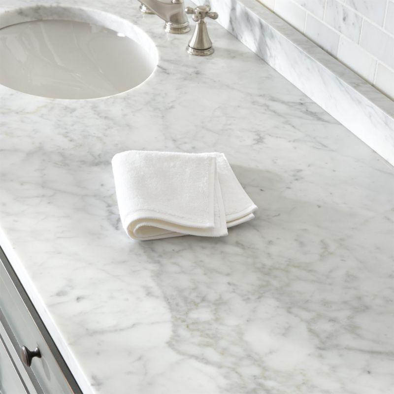 Turkish Cotton 800 Gram White Washcloth Reviews Crate