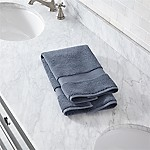 Turkish Cotton 800-Gram Evening Blue Hand Towel
