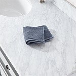 Turkish Cotton 800-Gram Evening Blue Washcloth