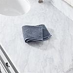 Turkish Cotton 800-Gram Evening Blue Washcloth