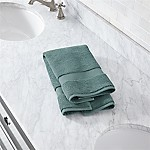Turkish Cotton 800-Gram Ocean Blue Hand Towel