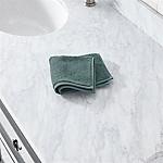 Turkish Cotton 800-Gram Ocean Blue Washcloth