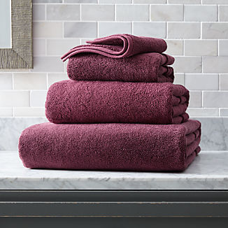Organic 800-Gram Plum Turkish Bath Towels