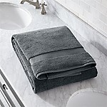 Turkish Cotton 800-Gram Slate Grey Bath Sheet