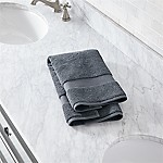 Turkish Cotton 800-Gram Slate Grey Hand Towel