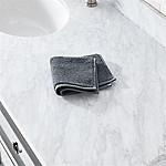 Turkish Cotton 800-Gram Slate Grey Washcloth