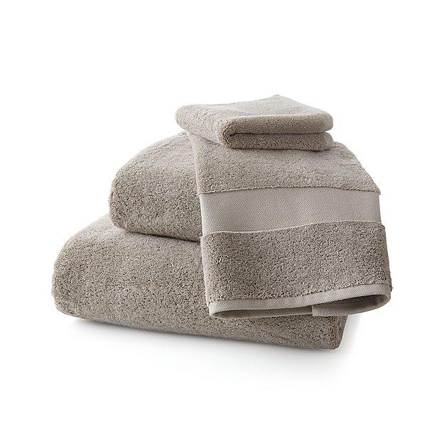 Turkish Cotton 800-Gram Stone Bath Towels - Image 1 of 4