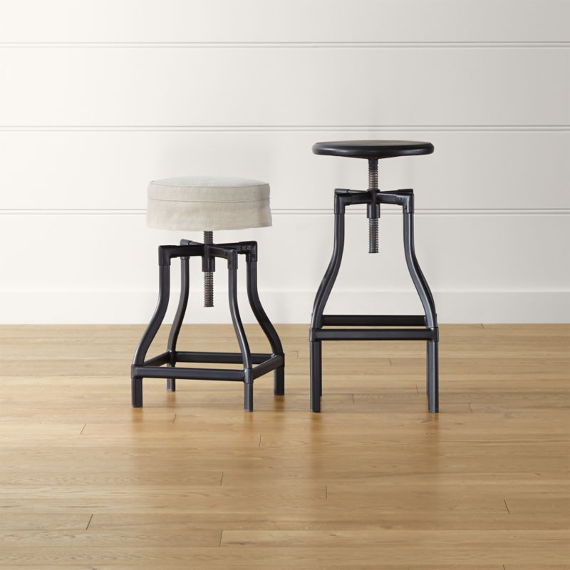 bar counter stools leather wood swivel backless save up to