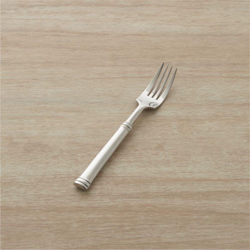 tuscany salad fork reviews crate and barrel. Black Bedroom Furniture Sets. Home Design Ideas