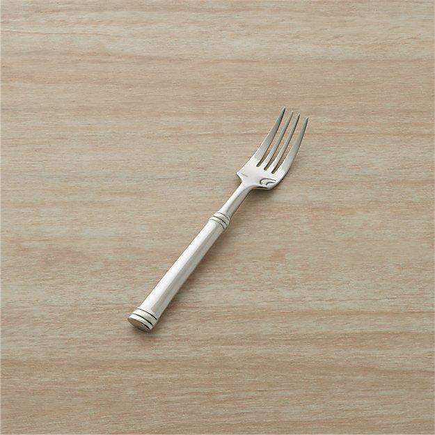tuscany salad fork crate and barrel. Black Bedroom Furniture Sets. Home Design Ideas