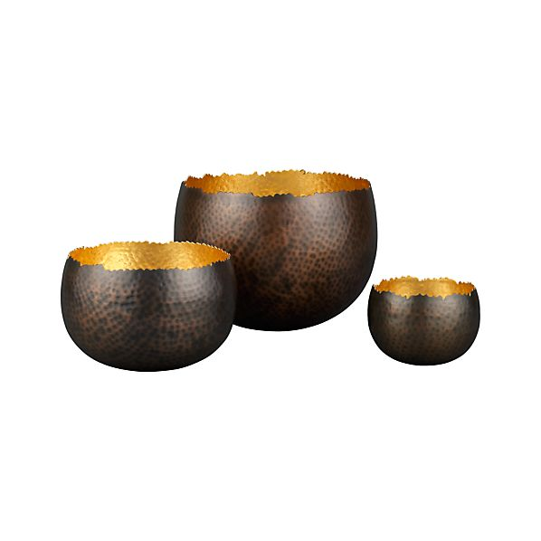 Set of 3 Tuvala Bowls