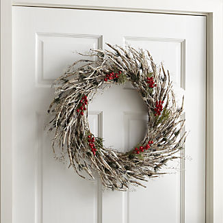 Twig Berry Wreath
